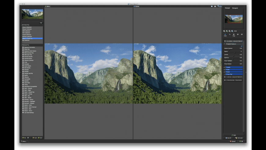 Topaz Adjust for Mac - review, screenshots