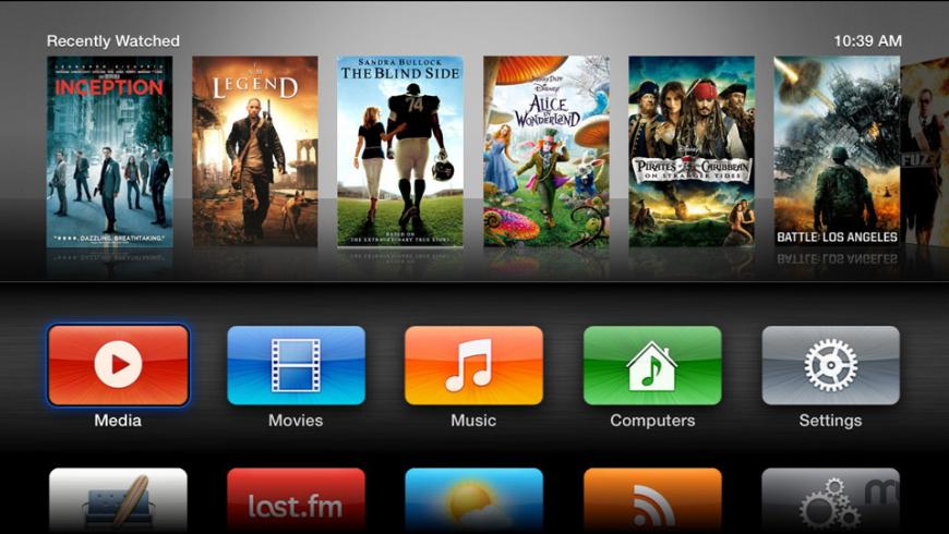 aTV Flash (black) for Mac - review, screenshots