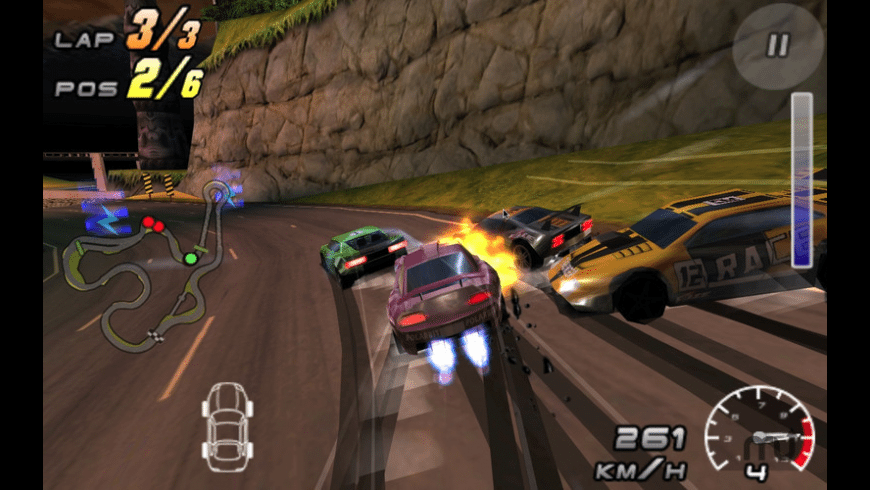 Raging Thunder 2 for Mac - review, screenshots