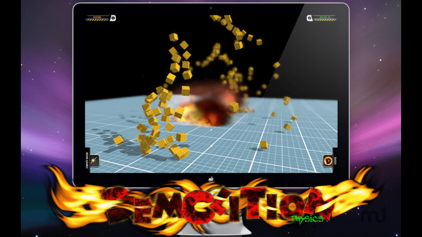 Demolition Physics Lite for Mac - review, screenshots