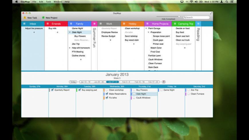 DayMap for Mac - review, screenshots
