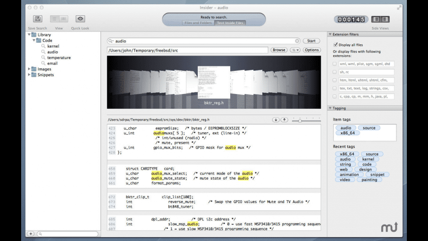 Insider for Mac - review, screenshots