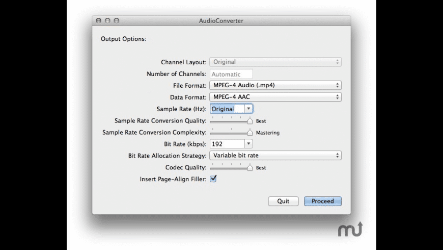 AudioConverter for Mac - review, screenshots
