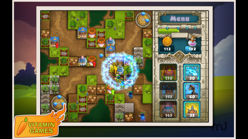 Treasure Defense for Mac - review, screenshots