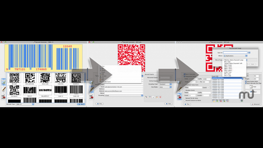 Barcode Generator for Mac - review, screenshots