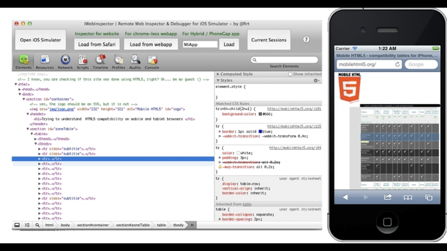 iWebInspector for Mac - review, screenshots