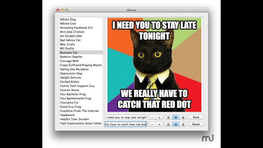 iMeme for Mac - review, screenshots