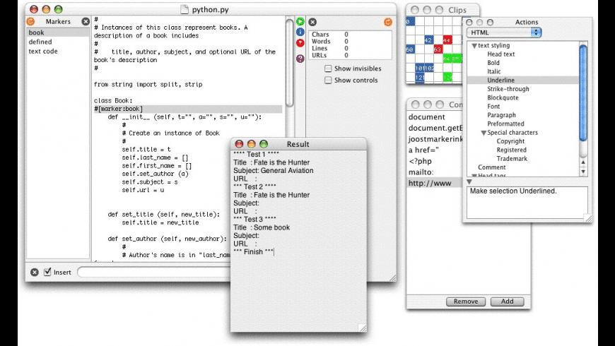 uEdit for Mac - review, screenshots