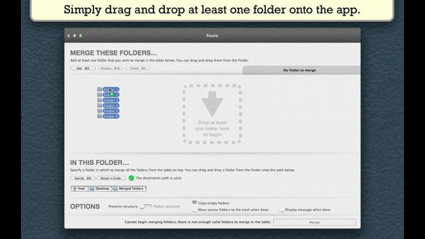 Fusio Utility for Mac - review, screenshots