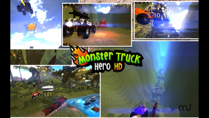Monster Truck Hero HD for Mac - review, screenshots