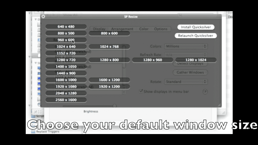 SP Resize for Mac - review, screenshots