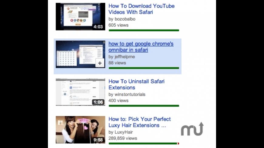 YTShowRating for Mac - review, screenshots
