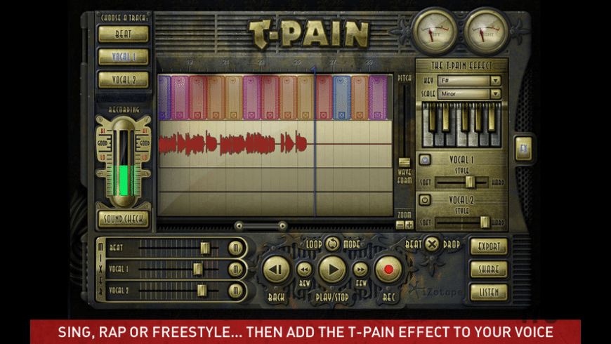 The T-Pain Engine for Mac - review, screenshots