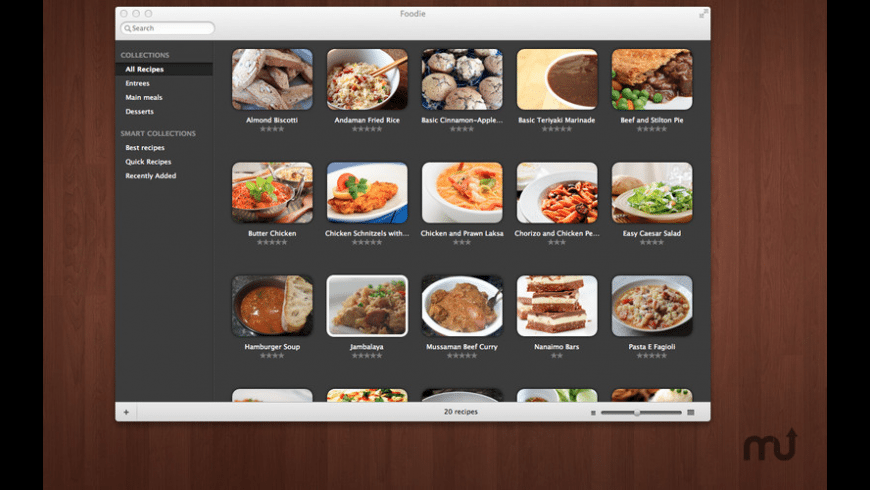 Foodie for Mac - review, screenshots