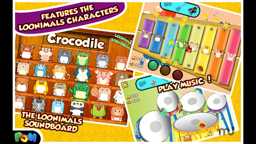The Loonimals Toy Box for Mac - review, screenshots