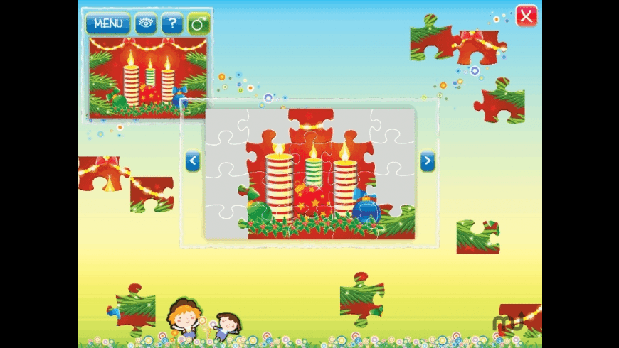 Christmas Puzzle for Mac - review, screenshots
