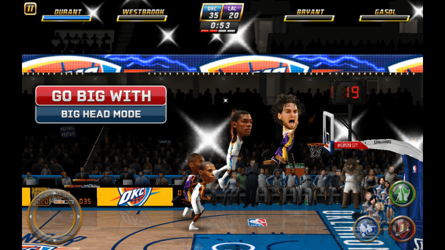 NBA JAM by EA SPORTS for Mac - review, screenshots