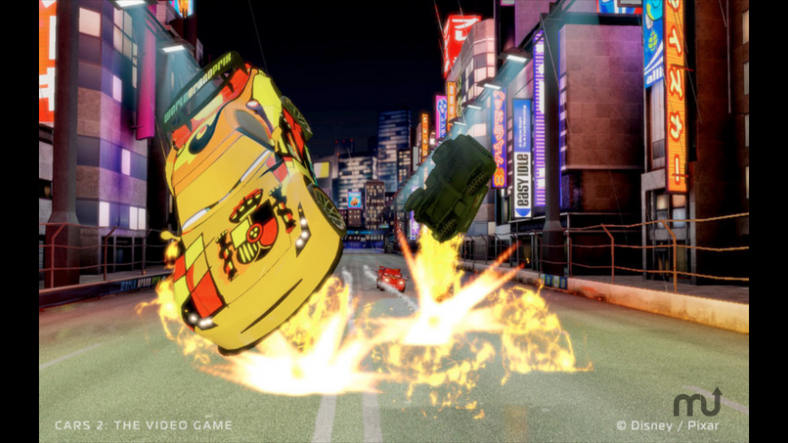 Cars 2: The Video Game for Mac - review, screenshots
