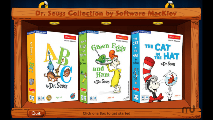 Dr. Seuss Collection for Mac - review, screenshots