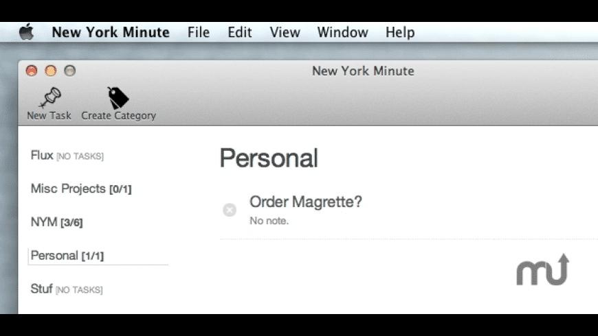 New York Minute for Mac - review, screenshots