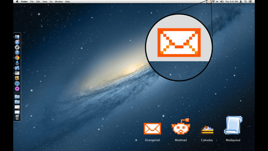 Orangered Notifier for Reddit for Mac - review, screenshots