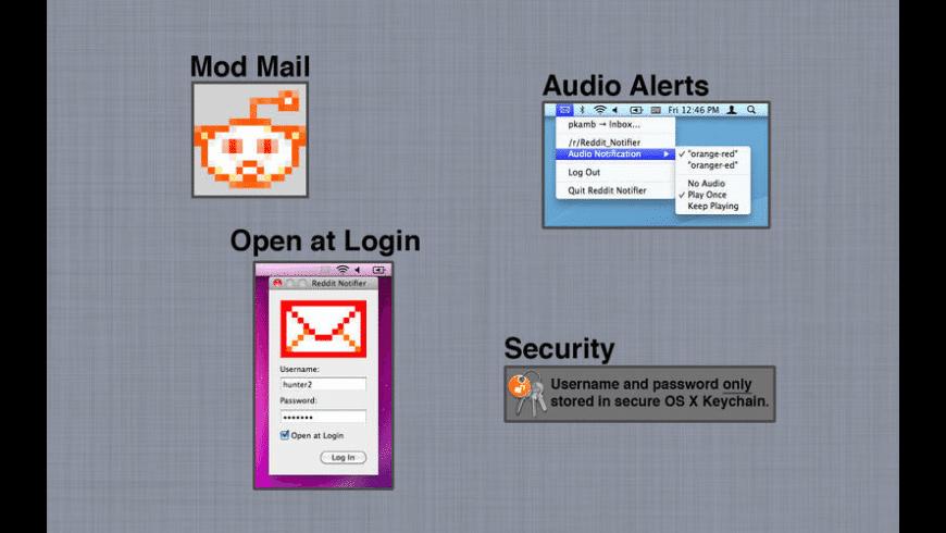 Orangered Notifier for Reddit for Mac - review, screenshots