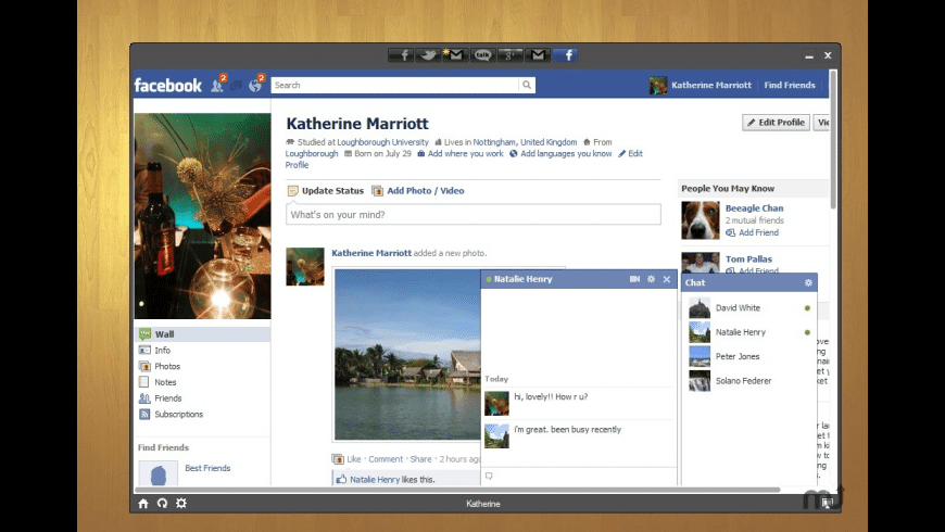 Social for Facebook for Mac - review, screenshots