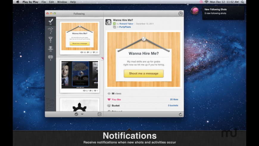 Play by Play for Mac - review, screenshots