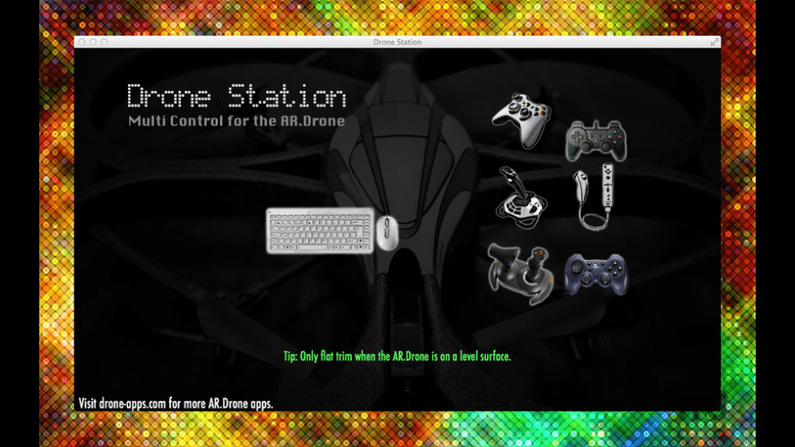 Drone Station for Mac - review, screenshots