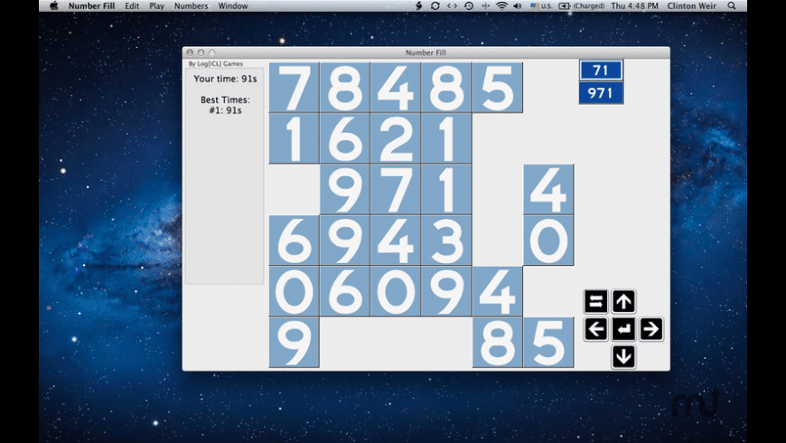 Number Fill for Mac - review, screenshots