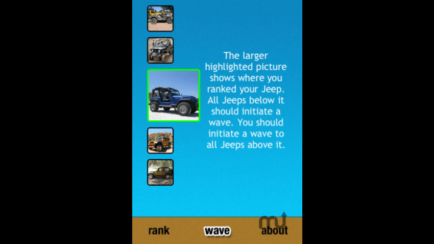 Jeep Wave for Mac - review, screenshots