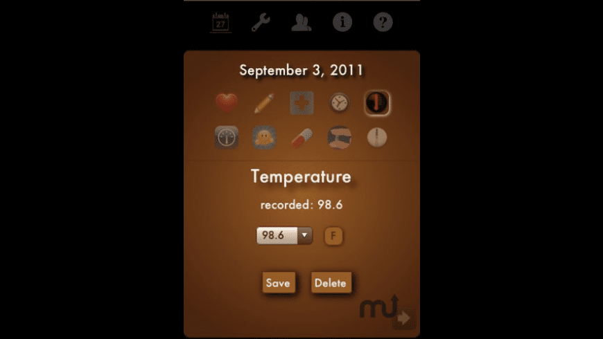 Ovulation Calendar Ladytimer for Mac - review, screenshots