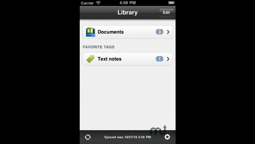 iDocument for Mac - review, screenshots