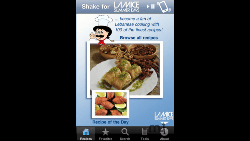100 Lebanese Recipes for Mac - review, screenshots