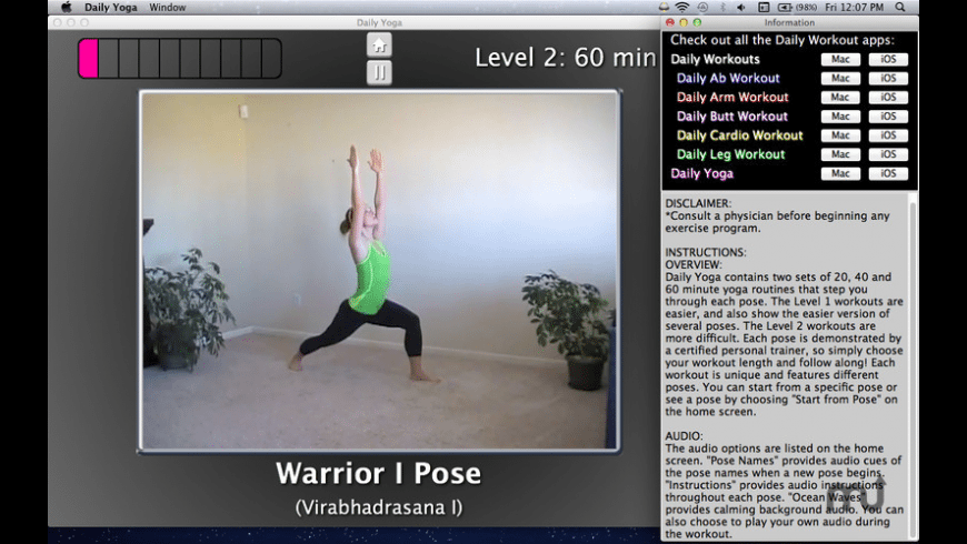 Simply Yoga for Mac - review, screenshots