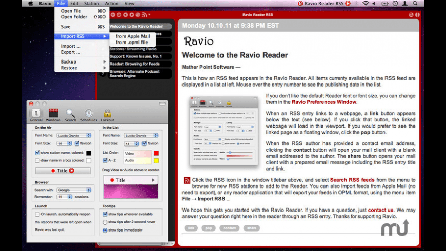 Ravio for Mac - review, screenshots