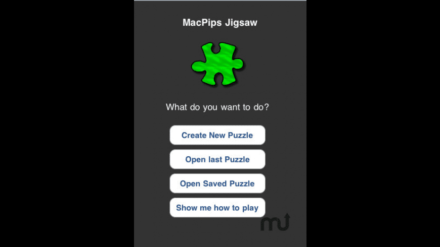 MP Jigsaw for Mac - review, screenshots