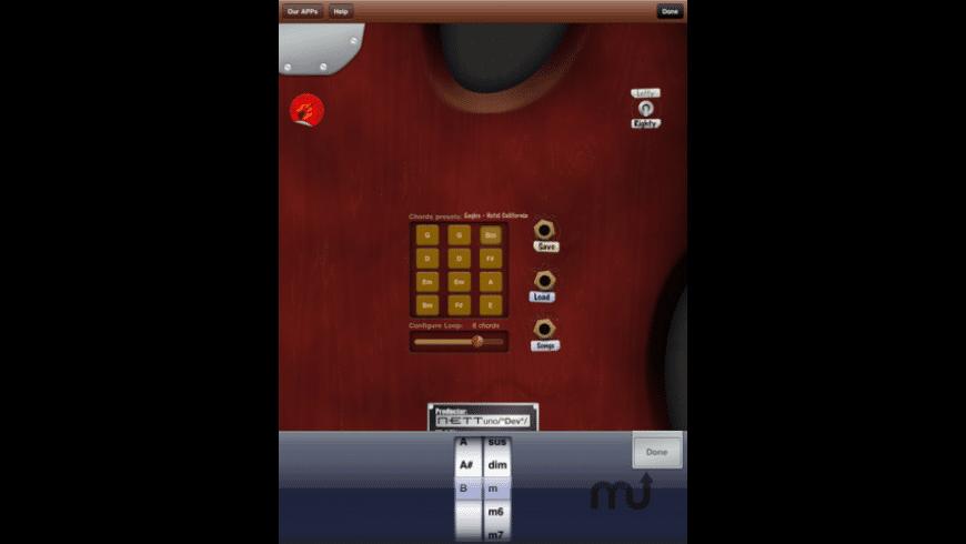 Virtual Guitar Free for Mac - review, screenshots