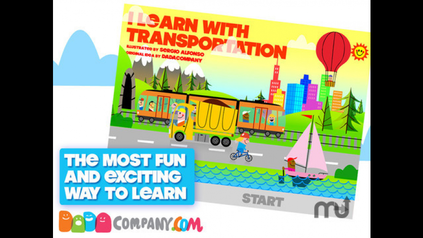 I Learn with Transportation for Mac - review, screenshots