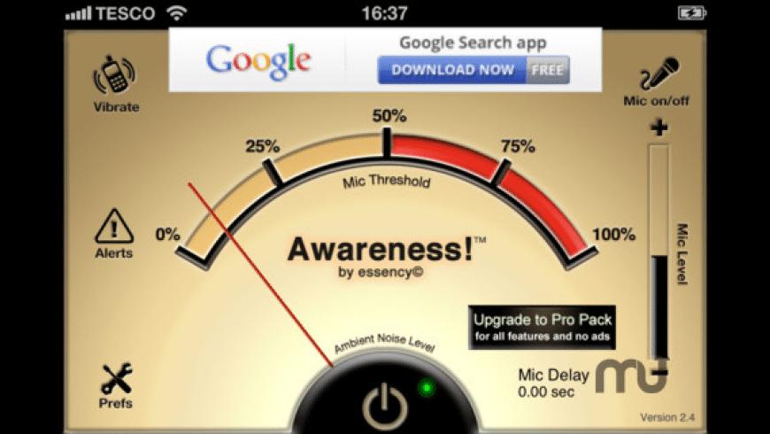 Awareness!  for Mac - review, screenshots