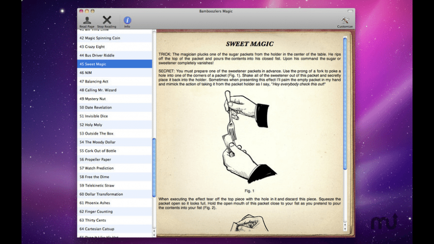 Bamboozlers Magic for Mac - review, screenshots