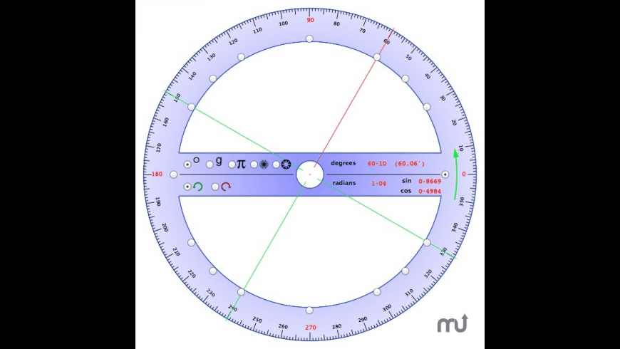 Protractor for Mac - review, screenshots