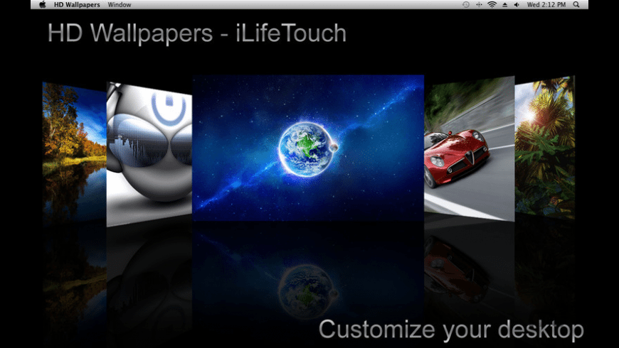 HD Wallpapers for Mac - review, screenshots
