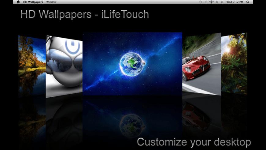 HD Wallpapers for Mac - review, screenshots