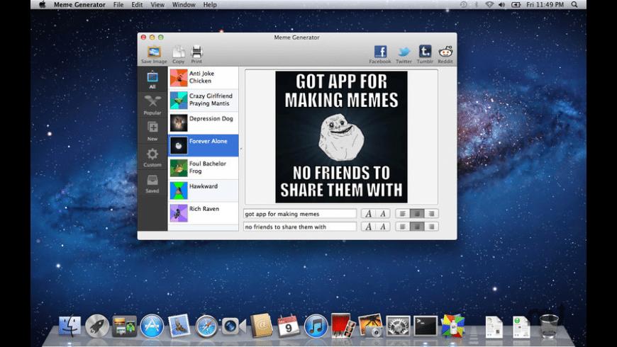Meme Generator for Mac - review, screenshots