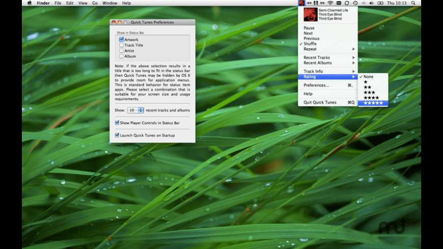 Quick Tunes for Mac - review, screenshots