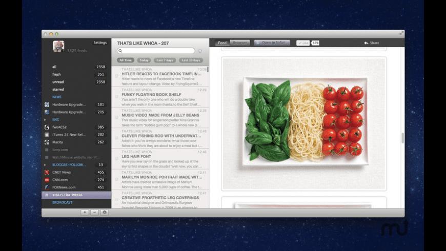 Cappuccino for Mac - review, screenshots