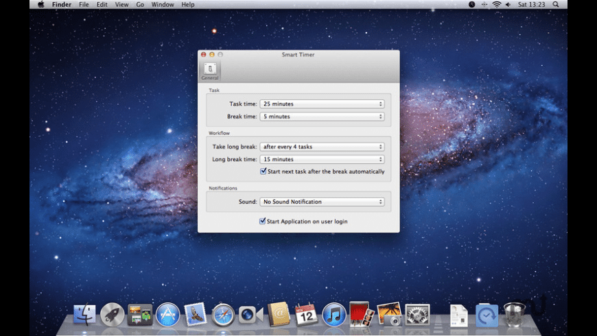 Smart Timer for Mac - review, screenshots