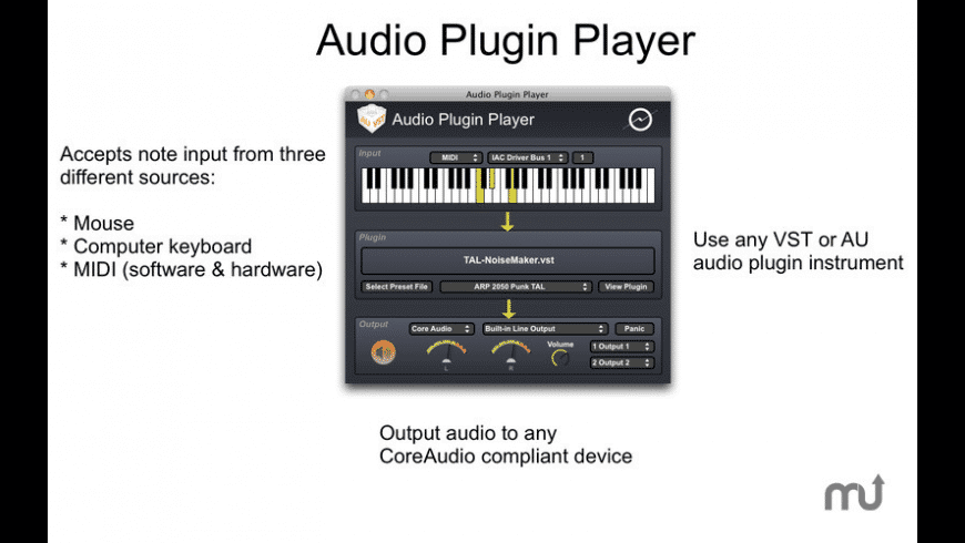 Audio Plugin Player for Mac - review, screenshots