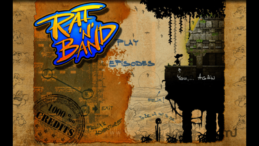 Rat'n'Band for Mac - review, screenshots